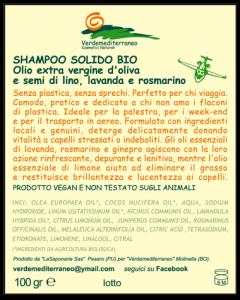 Etichette adesive per shampoo