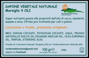 Etichette adesive per sapone