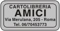 Etichette adesive per cartolibrerie