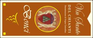 Etichette adesive per vinsanto