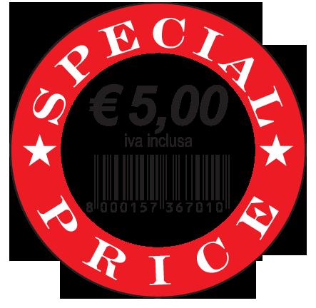 Etichette adesive rimovibili special price