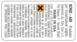 Etichette adesive per smalti