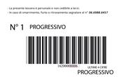 etichetta codice a barre