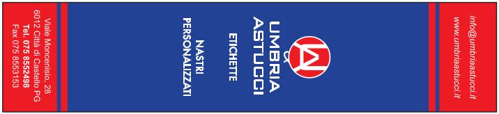 Segnalibro personalizzato in due colori